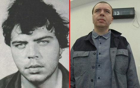 Zdeněk Vocásek se na svobodu zatím nedostane. 1987 - po zadržení (vlevo).
