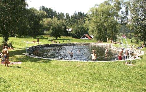 V tomto koupališti se muži utopili.