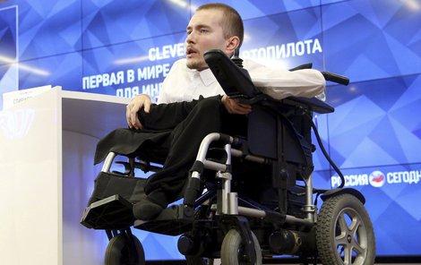 Valerij už se těší na nové tělo.