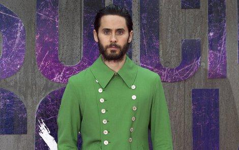 »Joker« Jared Leto vypadal spíš jako vodník...