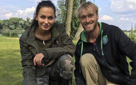 Eliška Bučková s Jakubem Vágnerem