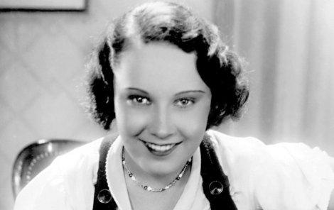 Baarová byla prvorepublikovou filmovou hvězdou.