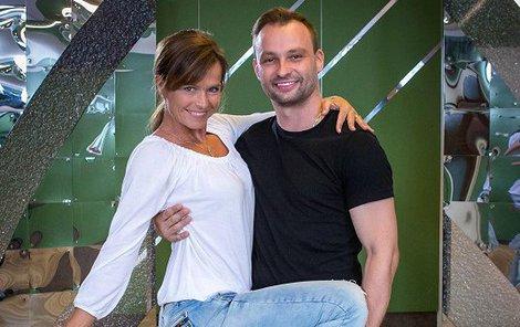 Šípková tančí s Markem Dědíkem.