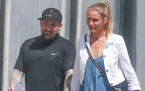Cameron Diaz vypadá, že je ve vztahu šťastná!