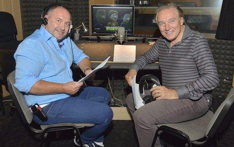 Karel Gott se s Michalem Davidem chystá na Slovensko.