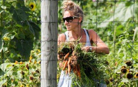 Sarah Jessica Parker si užívá sklizeň...