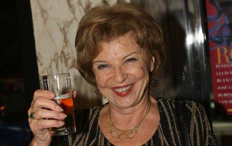 Libuše Švormová slaví 81. narozeniny. Přejeme všechno nejlepší!