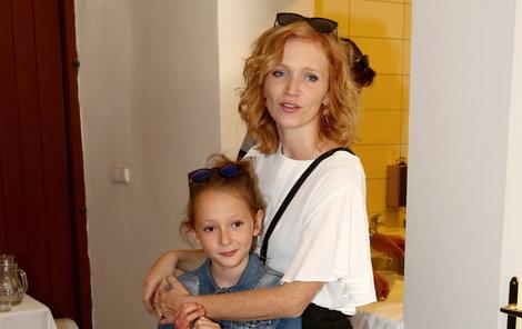 Aňa Geislerová s dcerou Stellou.