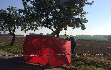 Kluzák na stromě, policie vyšetřuje tragickou událost.