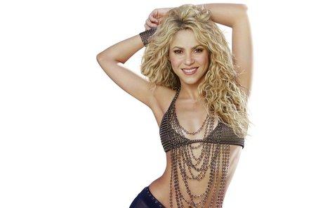 Shakira a její pověstné roztančené boky.