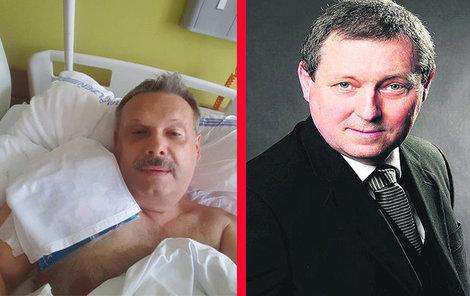 (Zleva) Václav Votava a Jiří Maštálka.