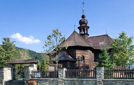 Kostel ve velkých Karlovicích je nádherný!