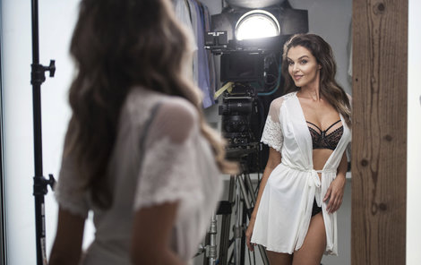 Iva Kubelková se stala tváří značky spodního prádla.
