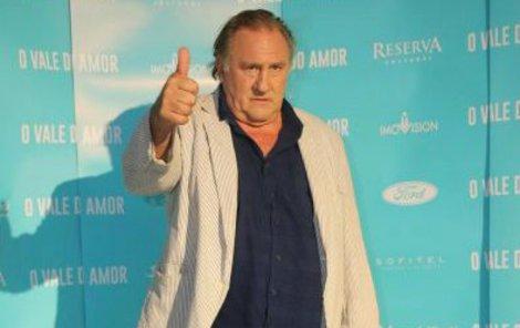 Francouz? Depardieu je prý »občanem světa«.