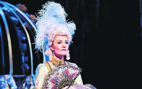 Iva Marešová jako Marie Antoinetta.