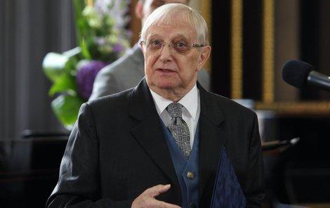 Jiří Suchý byl oceněn městem Prahou.