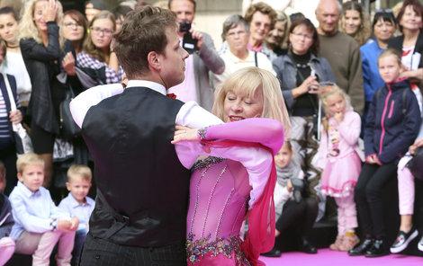 Batulková s Onderem vyšvihli dokonalý waltz jako před osmi lety.