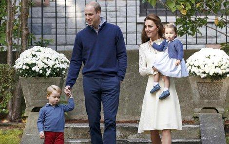 William a Kate dají přednost menší oslavě.