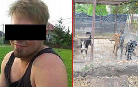 Pavel H., majitel zabijácké smečky a psi, kteří na chlapce zaútočili a zabili ho.