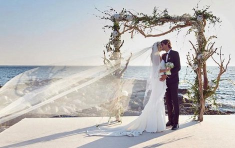 Svatební foto Terezy a Buraka