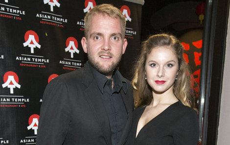 Libor Bouček s přítelkyní.