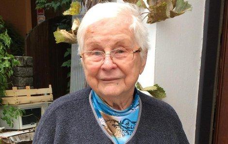 Eva Kalová (86) z Brna
