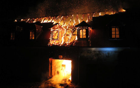Shořel majetek za zhruba pět milionů korun.