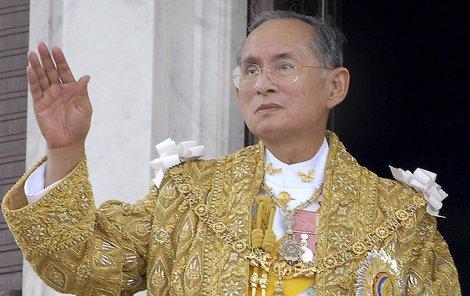 Král zemřel v požehnaném věku 88 let.