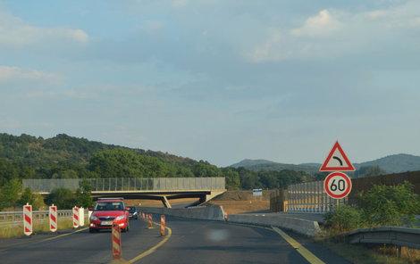 Část dálnice teď bude po čtyři dny uzavřena.