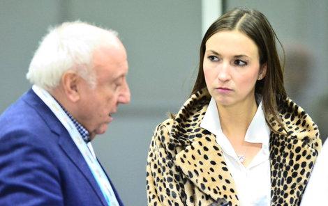 Felix Slováček a Lucie Gelemová v O2 aréně.