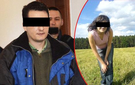 Vrah Vlastislav a zavražděná knihovnice Hana.