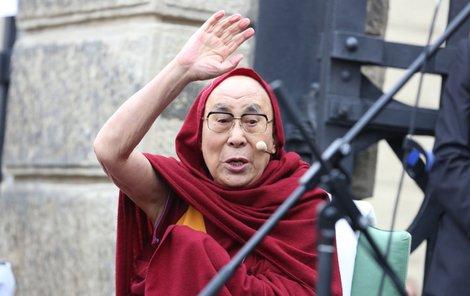 Dalajláma je v Praze!