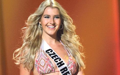 Březen 2011 - Jako Česká Miss byla »krev a mlíko«.