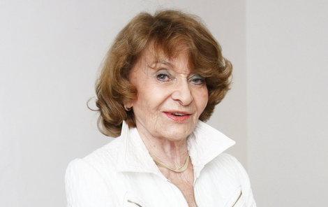Yvetta Simonová oslavila 88. narozeniny.