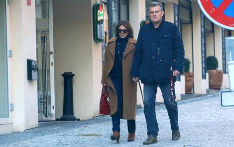 Marie Rottrová a její manžel jsou do sebe stále zamilovaní.