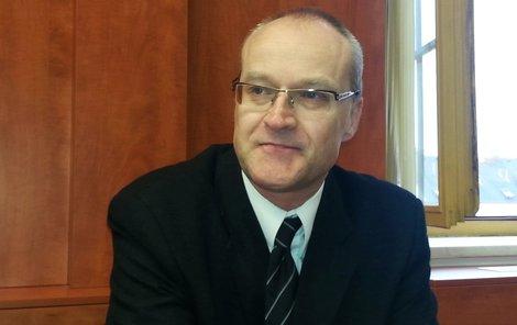 Bývalý primář chirurgie domažlické nemocnice Michal Kravec.