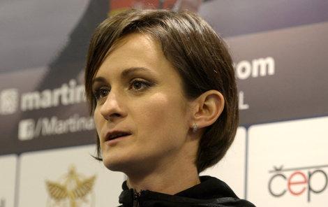 Martina Sáblíková by bez sportu žít nemohla.