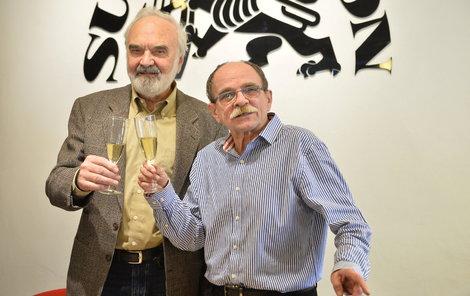 Zdeněk Svěrák a Jaroslav Uhlíř
