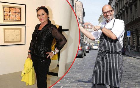 Hana Gregorová a Zdeněk Pohlreich patří mezi ty, kterým se úspěšně podařilo zhubnout!