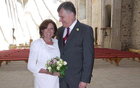 Marie Rottrová prozradila zajímavosti ze své svatby.