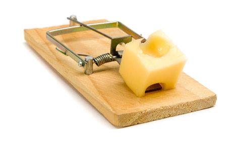 Klasická pastička na myši.