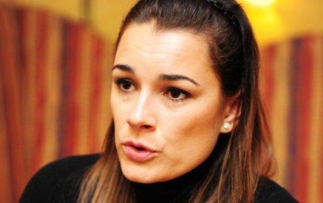Alena Šeredová prožívá těžké období.