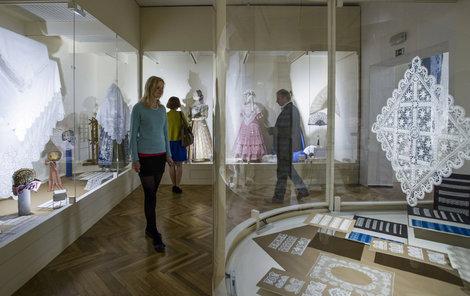 Muzeum krajky můžete navštívit ve Vamberku.