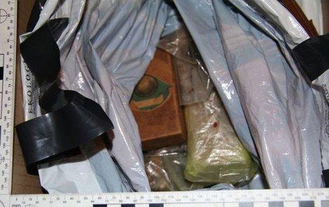 Trhavinu našli policisté v brněnském bytě.