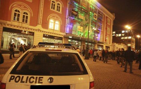 Pražské obchodní centrum Palladium.