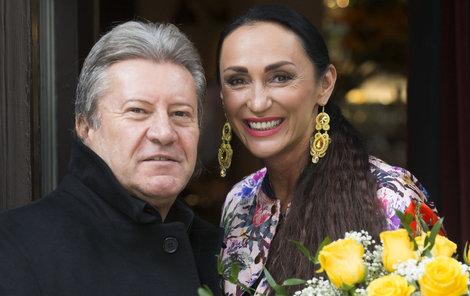 Sisa Sklovská a Juraj Lelkes