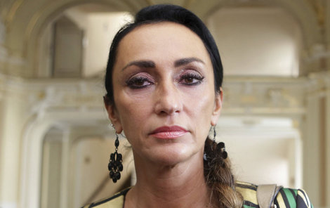 Sisa Sklovská musela do nemocnice.