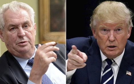 Nový americký prezident Donald Trump pozval do USA svého podporovatele Viktora Orbána. Pozve i další? Třeba Miloše Zemana?