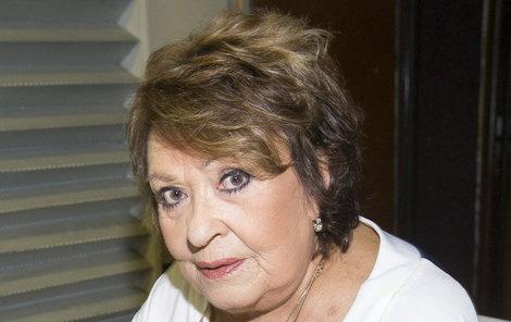 Jiřina Bohdalová se pořádně naštvala!