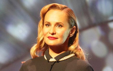 Monika Absolonová přibrala.